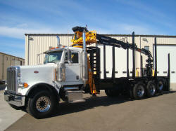 Peterbilt 379 Log Truck Boom Grapple For Sale