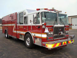 Seagrave Fire Truck For Sale