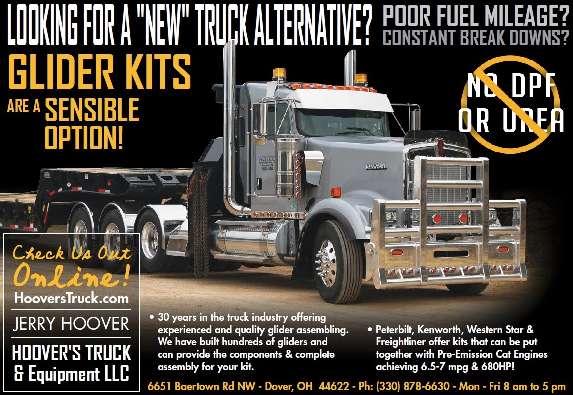 Cat powered glider kits is our specialty giving you the advantage of better fuel economy with peterbilt kenworth